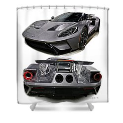 2016 Ford Gt Shower Curtain