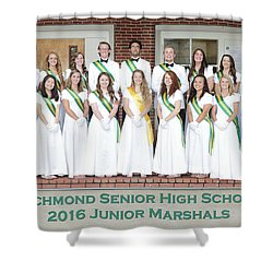 2016 Jr Marshals Shower Curtain