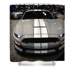 2016 Preproduction Ford Mustang Shelby Gt350 Shower Curtain