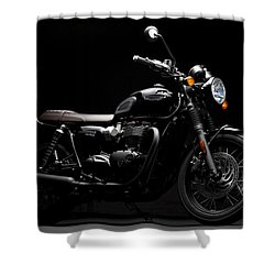 2016 Triumph Bonneville T120 Shower Curtain