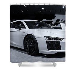 2017 Audi R8 Shower Curtain