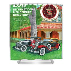 Shower Curtain featuring the painting 2017 International Cover Award by Jack Pumphrey