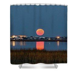 2017 Supermoon Shower Curtain