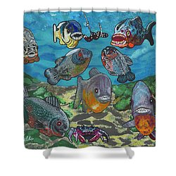 2018 - August Shower Curtain