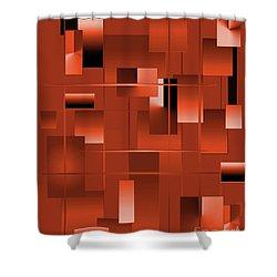 2022-2017 Shower Curtain by John Krakora