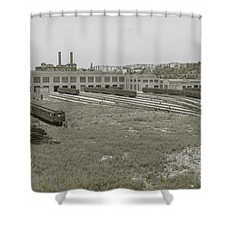 207th Street Railyards Shower Curtain