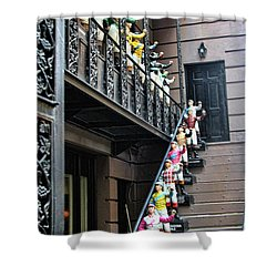21 Club Nyc Shower Curtain