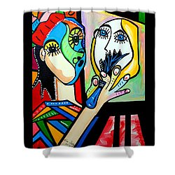 Artist Picasso Shower Curtain