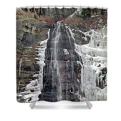 212m40 Bridal Veil Falls Utah Shower Curtain