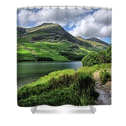 Buttermere Shower Curtain by Nichola Denny