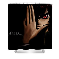 Code Geass Shower Curtain