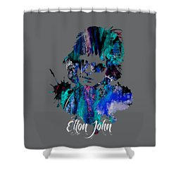 Elton John Collection Shower Curtain