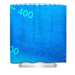 Equipment In Science Research Lab  Shower Curtain by Olivier Le Queinec
