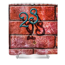 Shower Curtain featuring the photograph 23 by Paul Wear