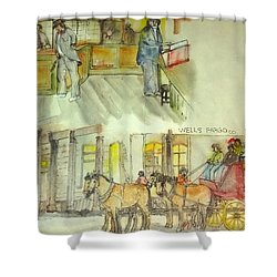 the ole' West my way album Shower Curtain