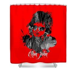 Elton John Collection Shower Curtain