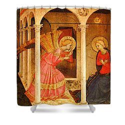 Fra Angelico  Shower Curtain by Fra Angelico