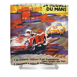 24 Hours Of Le Mans Shower Curtain