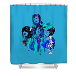 Led Zeppelin Collection Shower Curtain by Marvin Blaine
