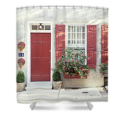 25 Queen Street Shower Curtain