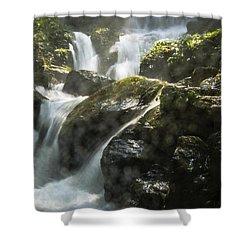 Waterfall Scenery Shower Curtain