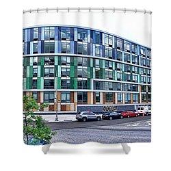 250n10 #2 Shower Curtain by Steve Sahm