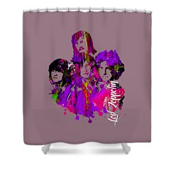 Led Zeppelin Collection Shower Curtain