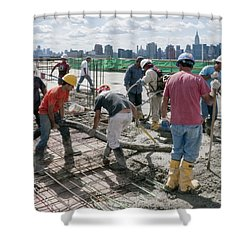 27th Street Lic 1 Shower Curtain