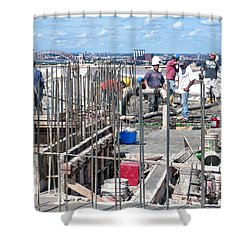27th Street Lic 2 Shower Curtain