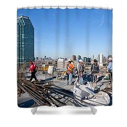 27th Street Lic 3 Shower Curtain