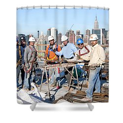 27th Street Lic 4 Shower Curtain