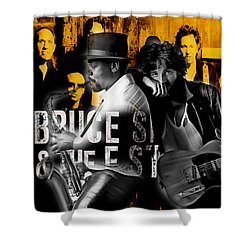 Bruce Springsteen Collection Shower Curtain