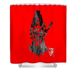 Slash Collection Shower Curtain