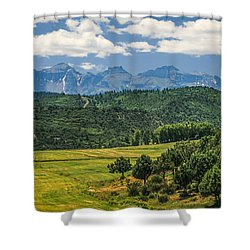 #2918 - Sneffles Range, Colorado Shower Curtain
