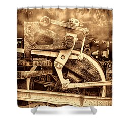 3 10 To Nowhere  Shower Curtain by American West Legend By Olivier Le Queinec