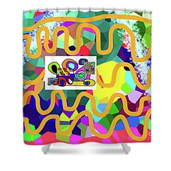 3-11-2057m Shower Curtain