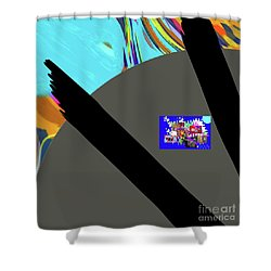 3-7-3057d Shower Curtain