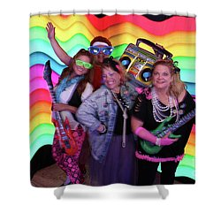 80's Dance Party At Sterling Event Center Shower Curtain