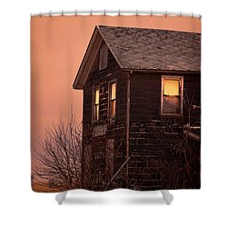 Shower Curtain featuring the photograph Abandoned House by Jill Battaglia