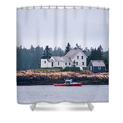 Acadia National Park  Shower Curtain by Trace Kittrell