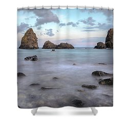 Aci Trezza - Sicily Shower Curtain