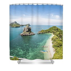 Ang Thong Marine National Park Shower Curtain