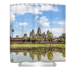 Angkor Wat Shower Curtain