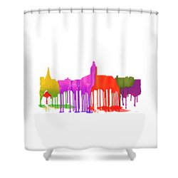 Annapolis Maryland Skyline      Shower Curtain