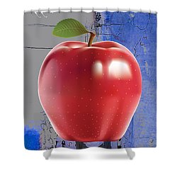 Apple Collection Shower Curtain