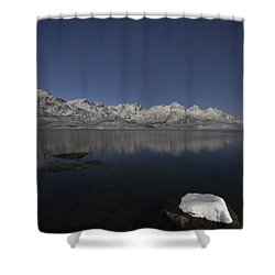 Arctic Night Shower Curtain