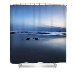 Arctic Sunset Shower Curtain