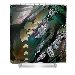 Divine Colors Of Art Shower Curtain