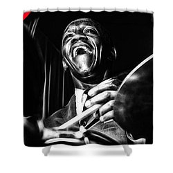 Art Blakey Collection Shower Curtain
