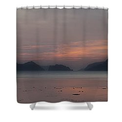 3 Boats Shower Curtain